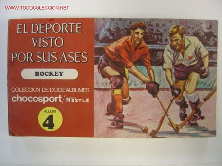 EL DEPORTE VISTO POR SUS ASES - HOCKEY, CHOCOSPORT/NESTLE - 1967 (Coleccionismo Deportivo - Álbumes otros Deportes)