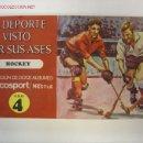 Coleccionismo deportivo: EL DEPORTE VISTO POR SUS ASES - HOCKEY, CHOCOSPORT/NESTLE - 1967. Lote 10127979