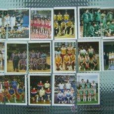 Coleccionismo deportivo: 15 CROMOS DE LIGA BASKET PRIMERA DIVISION 1984 - TRIDEPORTE 84 EDITORIAL FHER - SUELTOS A 2 EUROS. Lote 26470792
