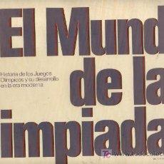 Coleccionismo deportivo: EL MUNDO DE LAS OLIMPIADAS. LABORATORIOS VITA. COMPLETO.. Lote 24125717