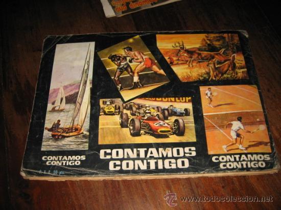 Coleccionismo deportivo: ALBUM PROMOCION DEPORTIVA CONTAMOS CONTIGO FALTAN 87 DE 310 - Foto 5 - 26442502