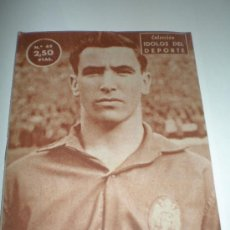 Coleccionismo deportivo: IDOLOS DEL DEPORTE Nº 49 MAURI (1959),MEDIDAS 16X12 CTMOS. Lote 24438265