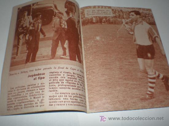 Coleccionismo deportivo: IDOLOS DEL DEPORTE Nº 49 MAURI (1959),medidas 16x12 ctmos - Foto 2 - 24438265