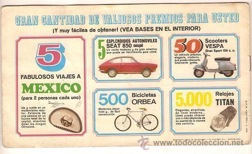 Coleccionismo deportivo: 0031 -EL DEPORTE VISTO POR SUS ASES Nº 3 - CHOCOSPORT NESTLE - BALONCESTO - COMPLETO - 1967 - Foto 2 - 26163882