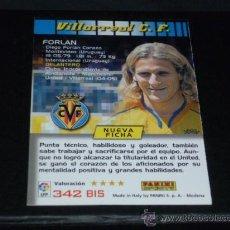 Coleccionismo deportivo: MEGACRACKS 2004/05 – 342 BIS FORLÁN ( 3ª EDICIÓN ) - VILLARREAL CF - 04/05 ( ). Lote 256081890