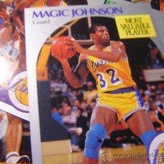Coleccionismo deportivo: BALONCESTO CROMOS DE LA NBA DEL AÑO 1990 THE OFFICIAL NBA BASKETBALL CARD. Lote 26944131