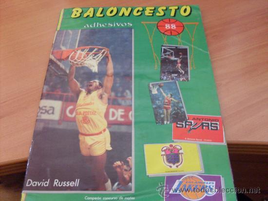 BALONCESTO 88 1 ª DIVISION COMPLETO (COIB89) (Coleccionismo Deportivo - Álbumes otros Deportes)