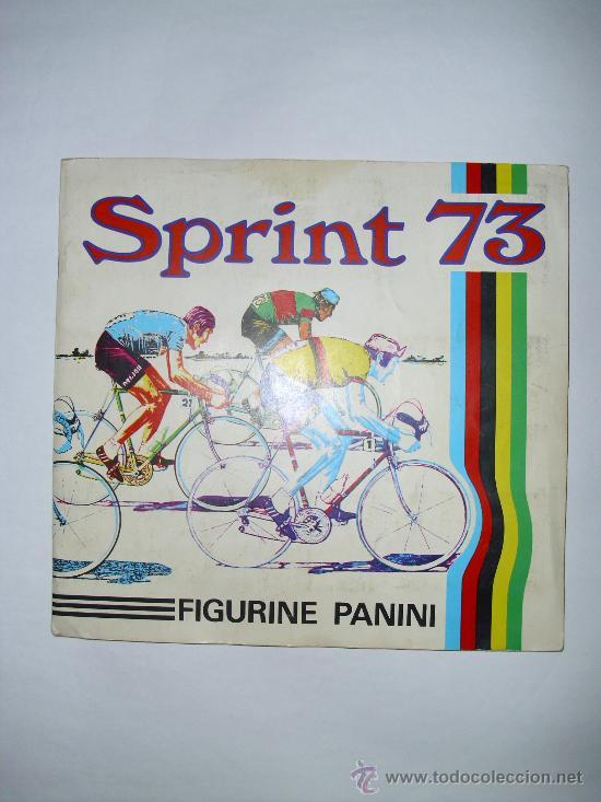 ALBUM CICLISMO SPRINT 73 PANINI (Coleccionismo Deportivo - Álbumes otros Deportes)