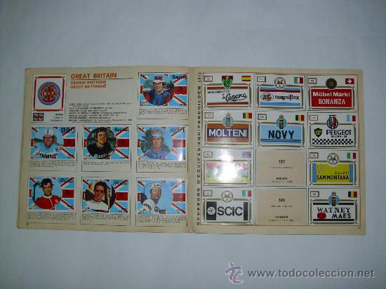 Coleccionismo deportivo: ALBUM CICLISMO SPRINT 73 PANINI - Foto 2 - 25316438