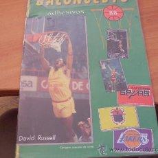 Coleccionismo deportivo: BALONCESTO 88 ( ALBUM COMPLETO ) (COIB89). Lote 26784929