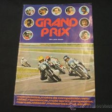 Coleccionismo deportivo: ALBUM CROMOS - GRAND PRIX - EDIT. FHER 1977 - FALTAN 7 CROMOS - . Lote 27416034