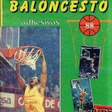 Coleccionismo deportivo: ÁLBUM DE CROMOS BALONCESTO 1988. Lote 27312918