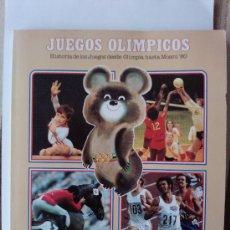 Coleccionismo deportivo: JUEGOS OLIMPICOS MOSCU 80 COLA CAO. Lote 27839975