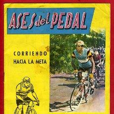 Coleccionismo deportivo: ALBUM CICLISMO, ASES DEL PEDAL 1959, EXCLUSIVAS TRIUNFO, RARO, ORIGINAL, VER FOTOS. Lote 28384031
