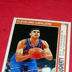 Coleccionismo deportivo: CLEVELAND CAVALIERS: BRAD DAUGHERTY - PANINI - FICHA NBA 91/92. Lote 28454731