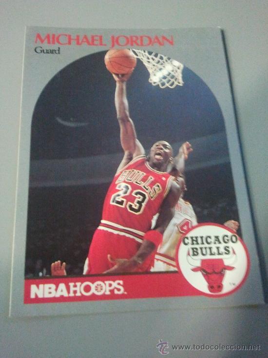 CARD MICHAEL JORDAN NBA 90/91 (Coleccionismo Deportivo - Álbumes otros Deportes)
