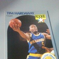 Coleccionismo deportivo: CARD TIM HARDAWAY NBA 90/91. Lote 28632047