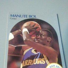 Coleccionismo deportivo: CARD MANUTE BOL NBA 90/91. Lote 28632053
