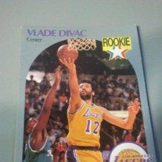 Coleccionismo deportivo: CARD VLADE DIVAC NBA 90/91. Lote 28632060