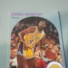 Coleccionismo deportivo: CARD JAMES WORTHY NBA 90/91. Lote 28632065