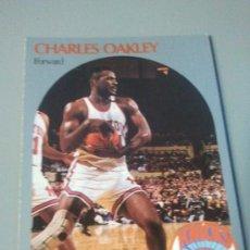 Coleccionismo deportivo: CARD CHARLES OAKLEY NBA 90/91. Lote 28632067