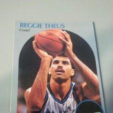 Coleccionismo deportivo: CARD REGGIE THEUS ORLANDO NBA 90/91. Lote 28632072