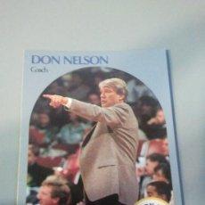 Coleccionismo deportivo: CARD DON NELSON NBA 90/91. Lote 28632086