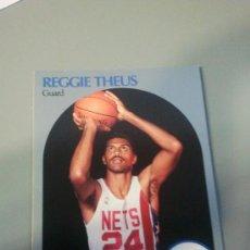 Coleccionismo deportivo: CARD REGGIE THEUS NETS NBA 90/91. Lote 28632089