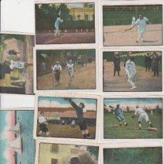 Coleccionismo deportivo: DEPORTES. LOTE DE 12 CROMOS.(6X9) CHOCOLATES GIRALDA.. Lote 28861296