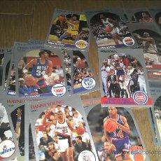 Coleccionismo deportivo: BALONCESTO 48 CROMOS ORIGINALES DE LA NBA AÑO 1990. Lote 29519701