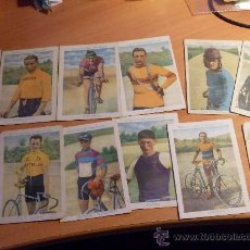 Coleccionismo deportivo: CICLISMO. LOTE 12 CROMOS AMATLLER (CAJ1). Lote 29639414