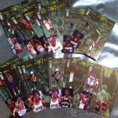 Coleccionismo deportivo: LOTE 13 CARDS NBA GAME NIGHT ' 97 CROMOS UPPER DECK COLLECTOR'S CHOICE 1997 - 98 TRADING CARDS. Lote 29733683