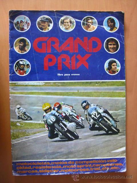 GRAND PRIX. FHER. 1977. FALTAN 94 CROMOS DE 280. (Coleccionismo Deportivo - Álbumes otros Deportes)