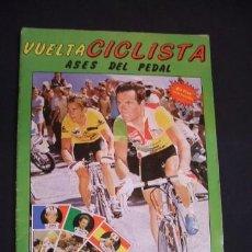 Coleccionismo deportivo: ALBUM DE CROMOS - VUELTA CICLISTA - ASES DEL PEDAL - CONTIENE 48 CROMOS - J. MERCHANTE - . Lote 30785085