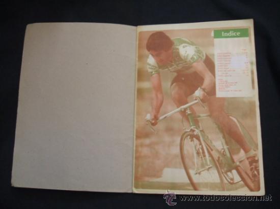 Coleccionismo deportivo: ALBUM DE CROMOS - VUELTA CICLISTA - ASES DEL PEDAL - CONTIENE 48 CROMOS - J. MERCHANTE - - Foto 2 - 30785085