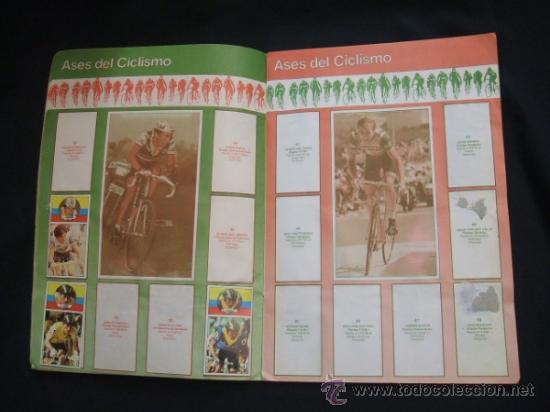 Coleccionismo deportivo: ALBUM DE CROMOS - VUELTA CICLISTA - ASES DEL PEDAL - CONTIENE 48 CROMOS - J. MERCHANTE - - Foto 5 - 30785085