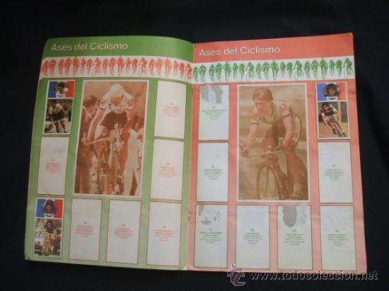 Coleccionismo deportivo: ALBUM DE CROMOS - VUELTA CICLISTA - ASES DEL PEDAL - CONTIENE 48 CROMOS - J. MERCHANTE - - Foto 6 - 30785085