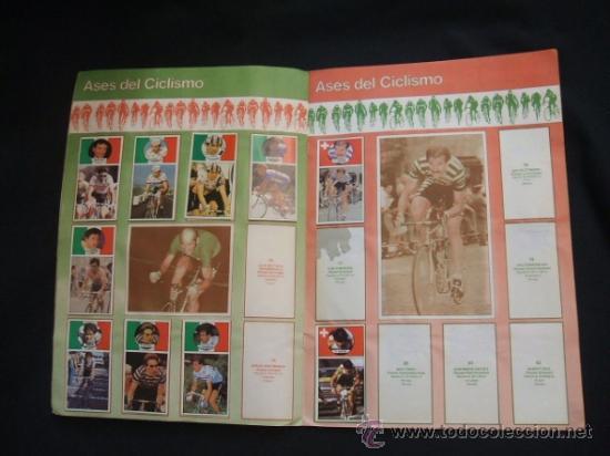Coleccionismo deportivo: ALBUM DE CROMOS - VUELTA CICLISTA - ASES DEL PEDAL - CONTIENE 48 CROMOS - J. MERCHANTE - - Foto 7 - 30785085