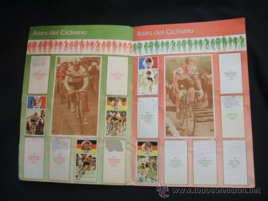Coleccionismo deportivo: ALBUM DE CROMOS - VUELTA CICLISTA - ASES DEL PEDAL - CONTIENE 48 CROMOS - J. MERCHANTE - - Foto 8 - 30785085