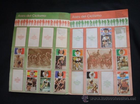 Coleccionismo deportivo: ALBUM DE CROMOS - VUELTA CICLISTA - ASES DEL PEDAL - CONTIENE 48 CROMOS - J. MERCHANTE - - Foto 9 - 30785085
