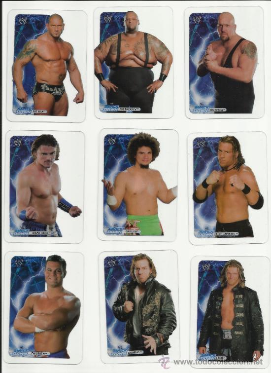 Coleccionismo deportivo: Wrestling New pressing catch stars Smack Down RAW ECW WLegends MC 2008 Coleccion completa lamincards - Foto 2 - 31139878