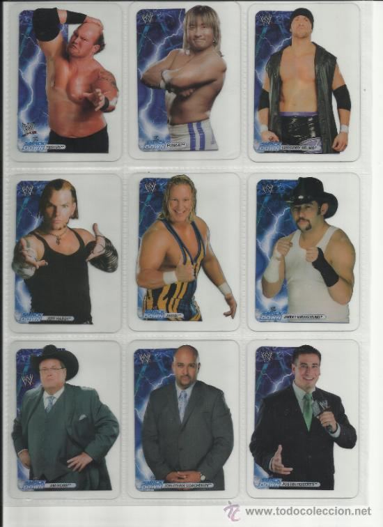 Coleccionismo deportivo: Wrestling New pressing catch stars Smack Down RAW ECW WLegends MC 2008 Coleccion completa lamincards - Foto 3 - 31139878