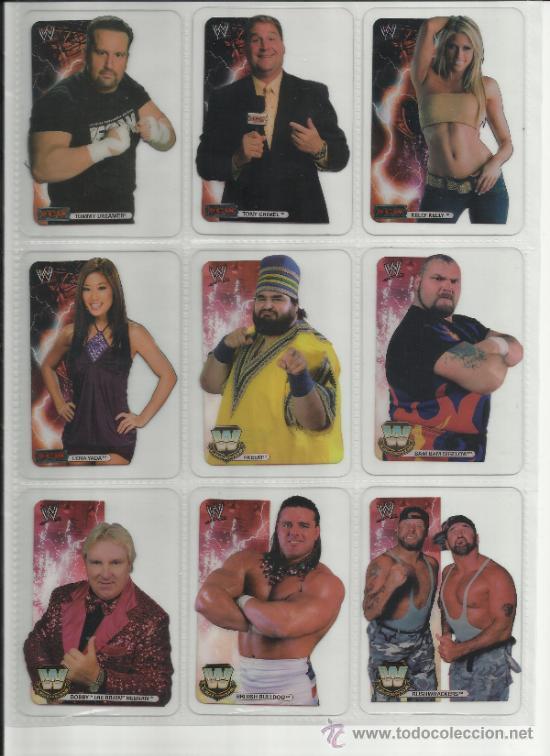 Coleccionismo deportivo: Wrestling New pressing catch stars Smack Down RAW ECW WLegends MC 2008 Coleccion completa lamincards - Foto 13 - 31139878