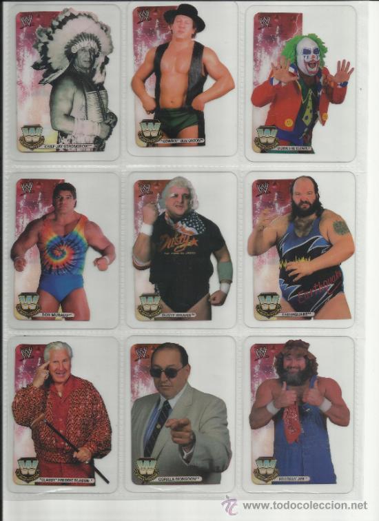 Coleccionismo deportivo: Wrestling New pressing catch stars Smack Down RAW ECW WLegends MC 2008 Coleccion completa lamincards - Foto 14 - 31139878