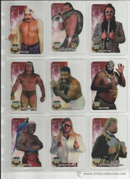 Coleccionismo deportivo: Wrestling New pressing catch stars Smack Down RAW ECW WLegends MC 2008 Coleccion completa lamincards - Foto 15 - 31139878