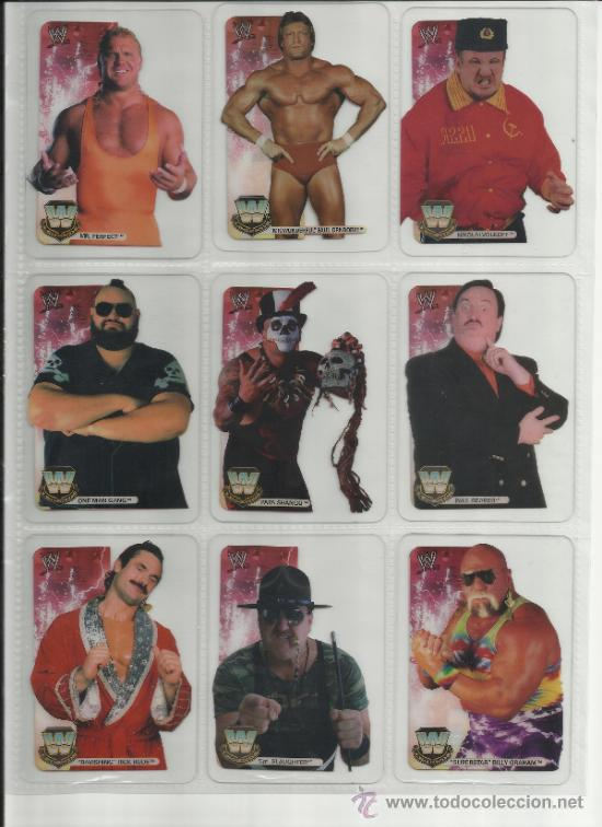 Coleccionismo deportivo: Wrestling New pressing catch stars Smack Down RAW ECW WLegends MC 2008 Coleccion completa lamincards - Foto 16 - 31139878