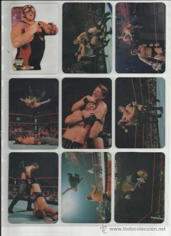 Coleccionismo deportivo: Wrestling New pressing catch stars Smack Down RAW ECW WLegends MC 2008 Coleccion completa lamincards - Foto 17 - 31139878