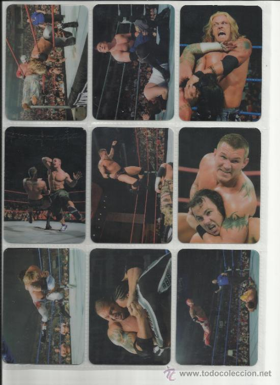 Coleccionismo deportivo: Wrestling New pressing catch stars Smack Down RAW ECW WLegends MC 2008 Coleccion completa lamincards - Foto 18 - 31139878