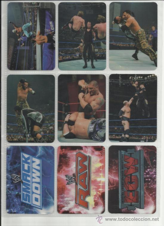 Coleccionismo deportivo: Wrestling New pressing catch stars Smack Down RAW ECW WLegends MC 2008 Coleccion completa lamincards - Foto 19 - 31139878