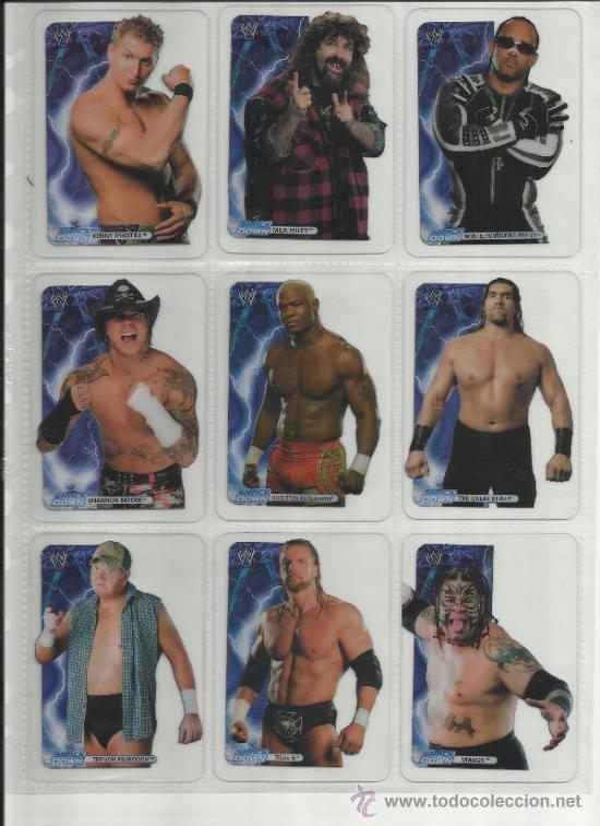 Coleccionismo deportivo: Wrestling New pressing catch stars Smack Down RAW ECW WLegends MC 2008 Coleccion completa lamincards - Foto 4 - 31139878